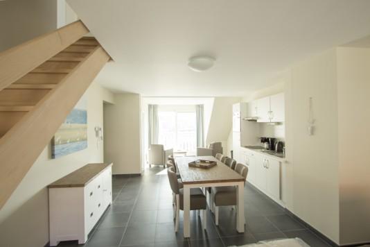 De Panne: Appartement voor 6 personen