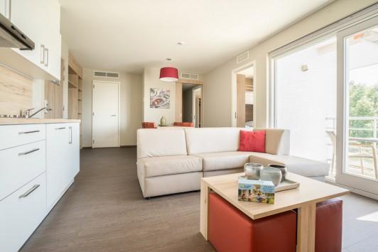 Zeebrugge: Vakantieappartement voor 6 personen (Comfort)